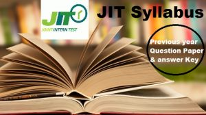 JIT (Joint Intern Test), JIT Exam, JIT, Joint Intern test,